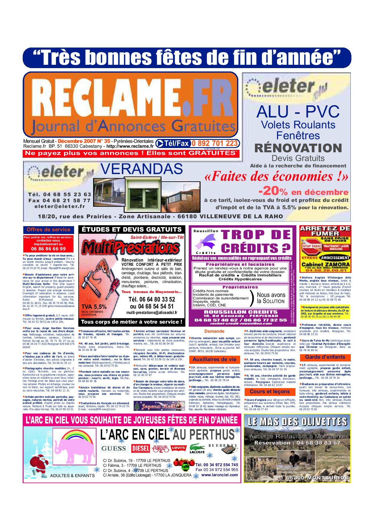 Tapis Pour Caravane Gitan reclame.fr 35 decembre 2007j2m - issuu