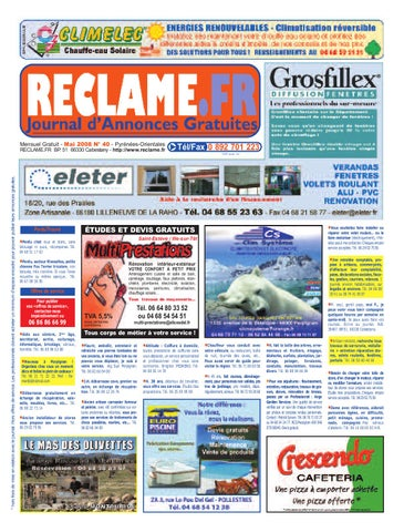 J2M 2008 RECLAME 40 issuu FR MAI by Nw8Onk0PZX