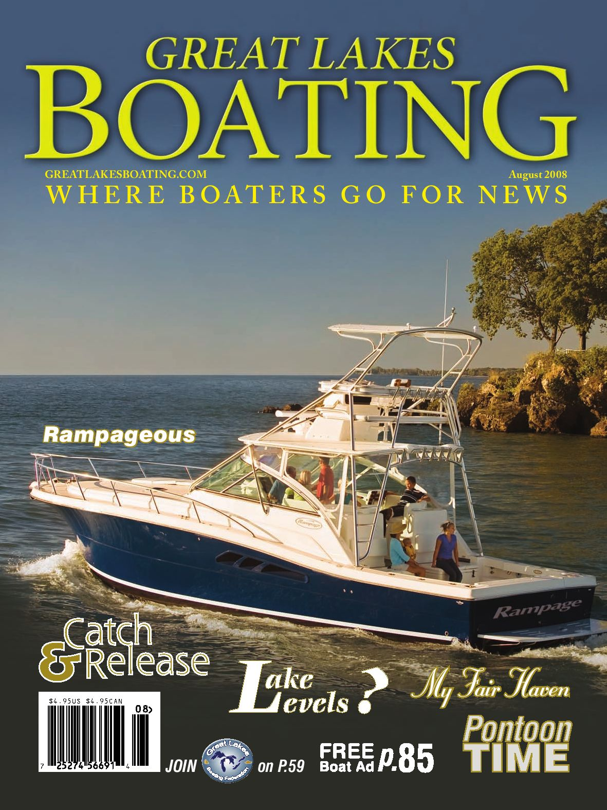 Great Lakes Boating August 2008 by GL Boating - issuu