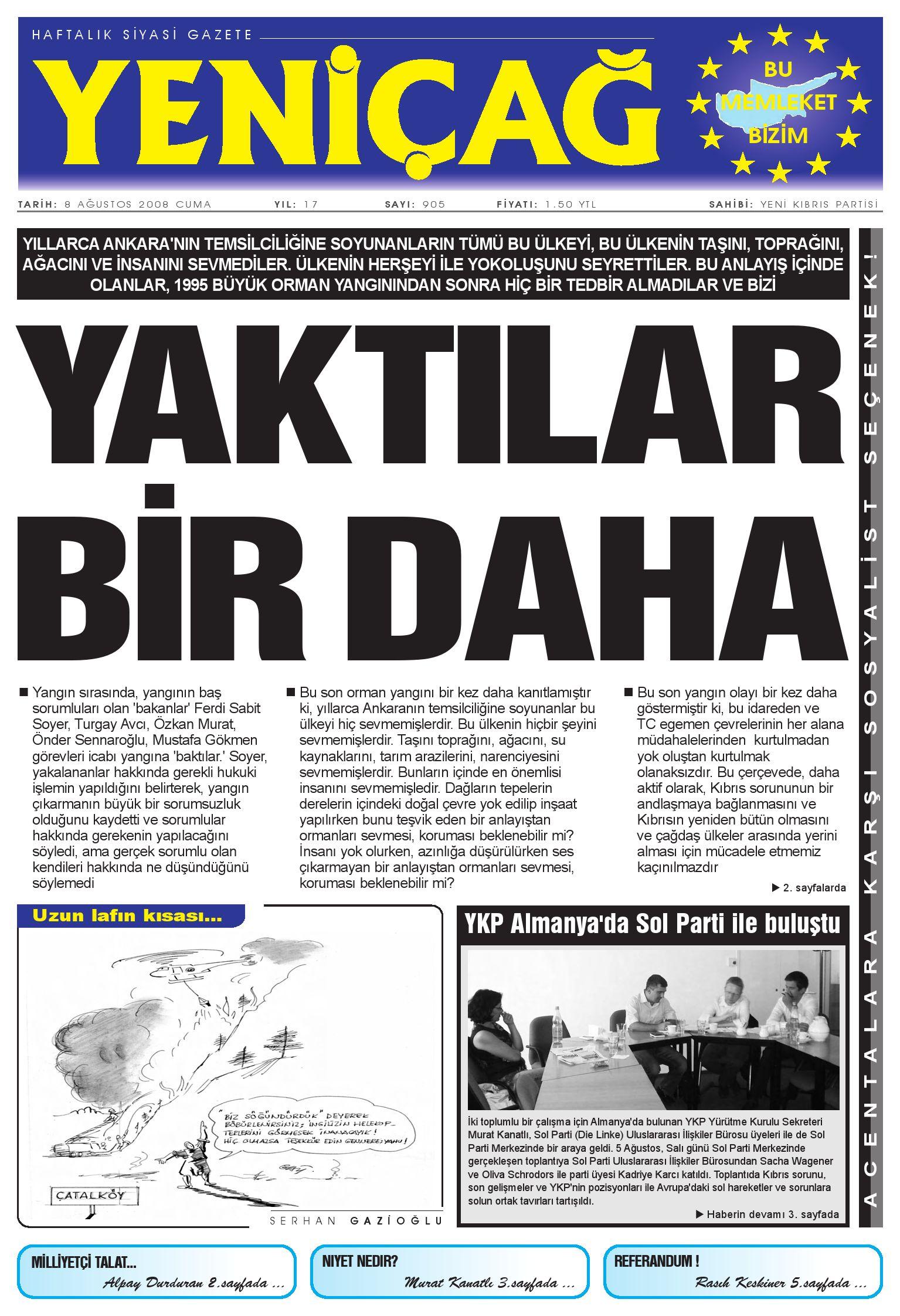 Yenicag Gazetesi By Murat Kanatli Issuu