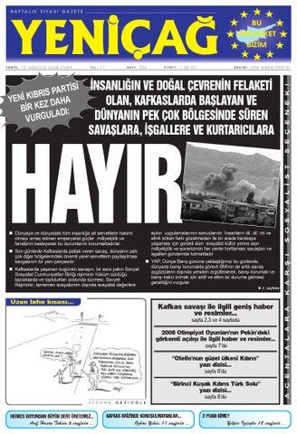 Yenicag Gazetesi By Yenicag Yeni Kibris Partisi Issuu