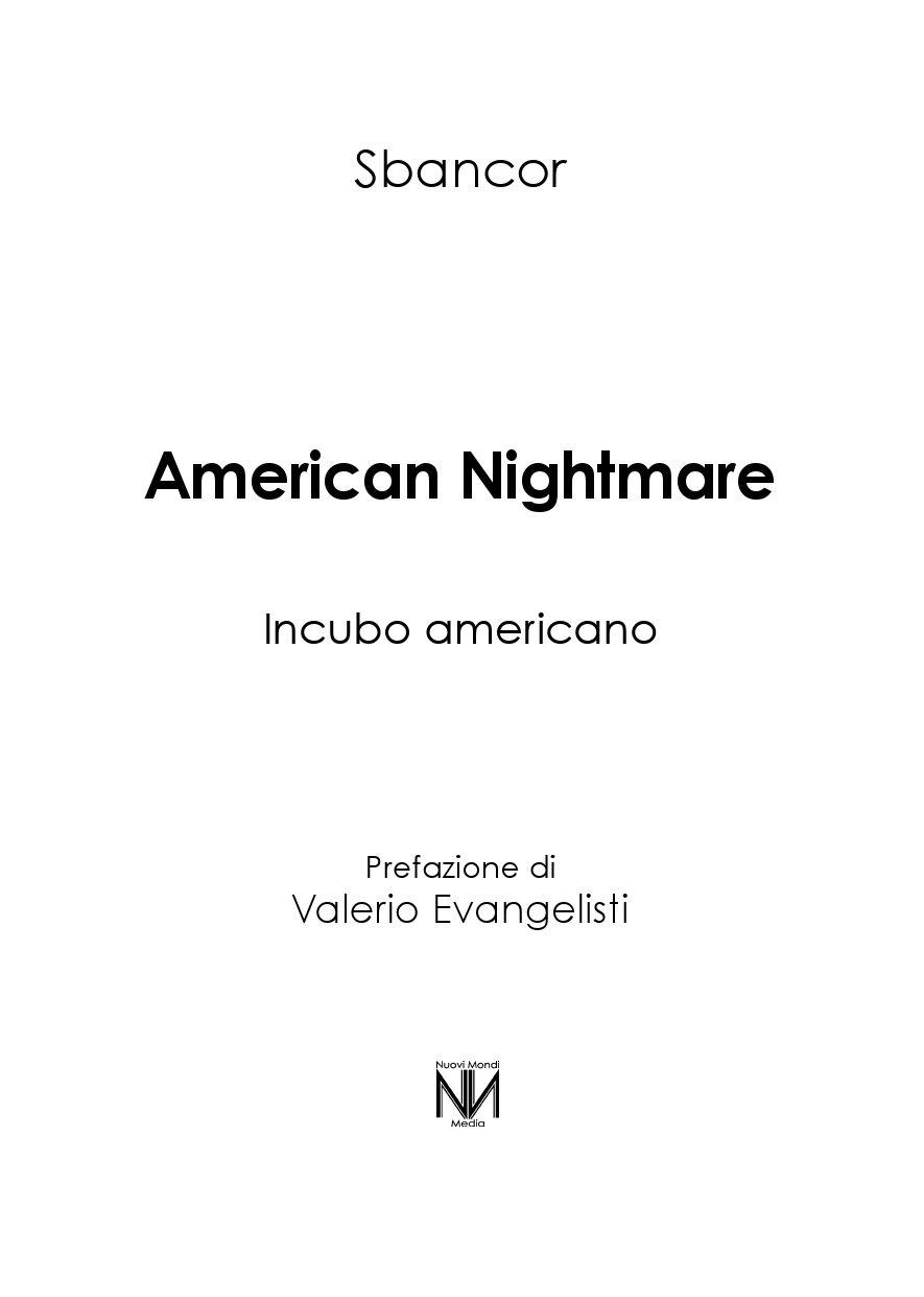 Sbancor - American Nightmare by Francesco - issuu 0893849a9c0