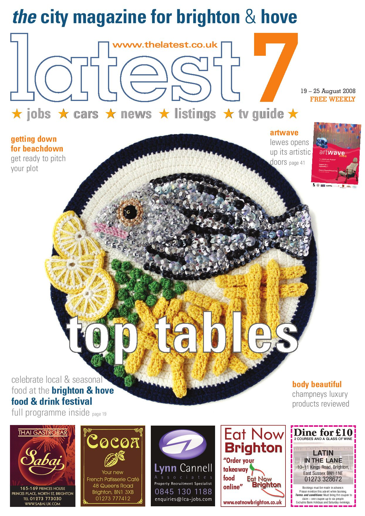 Latest 7: Issue 386 19-25 August 2008 by Latest Homes - issuu