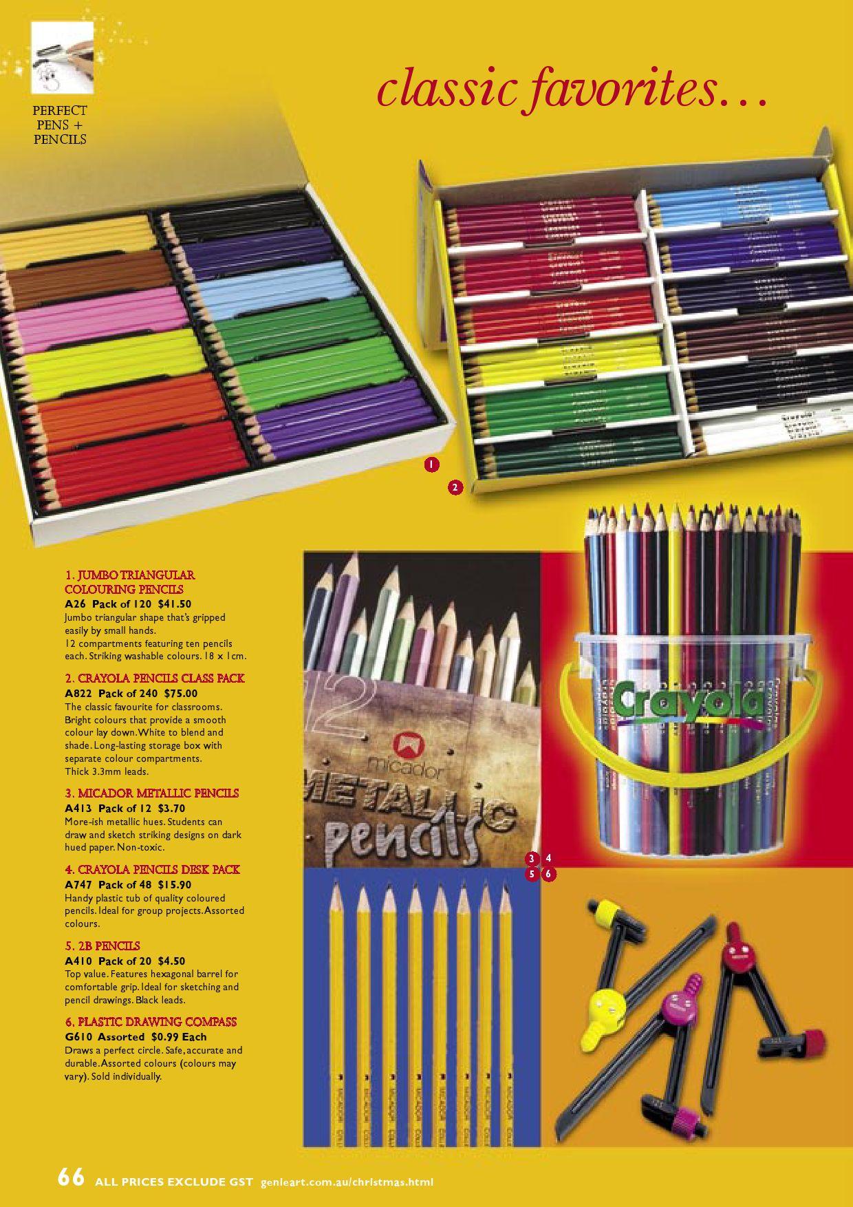 Art and Craft Pencils