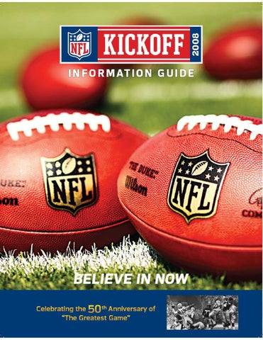 NFL Kickoff Guide 2008 by Walter Reiterer - issuu 5d4e58d78f6