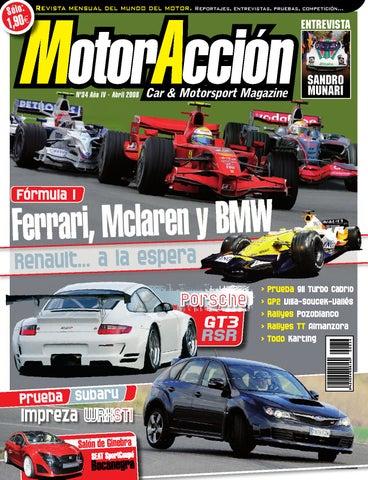 MotorAccion 34 (abril 2008) by Motoraccion Revista mensual - issuu