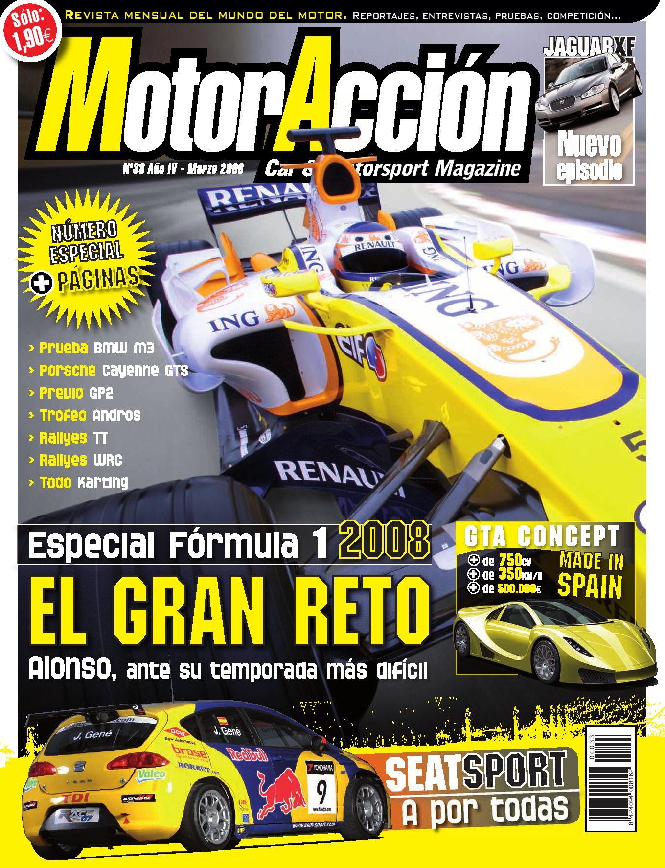 MotorAcción 33 (marzo 2008) by Motoraccion Revista mensual - issuu