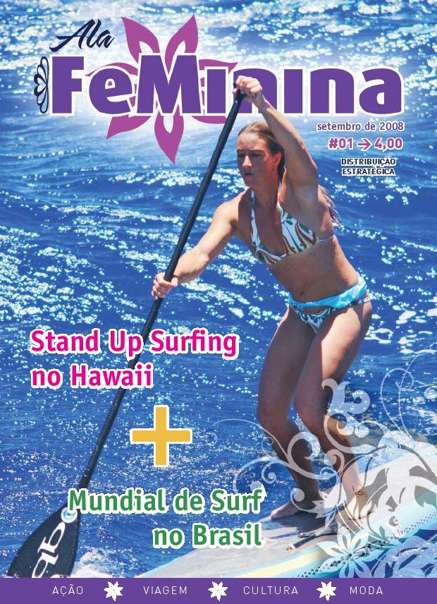 Revista Surfista não circulada 1998 VOL.39 #7 Surf Hawaii Surfista Longboard