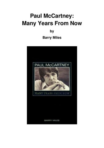 Many Years Fron Now by Federica Raitzin issuu