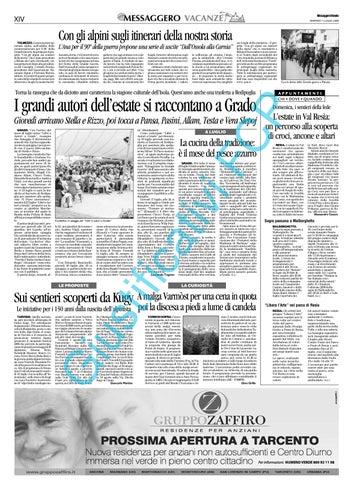 Rassegna Stampa KUGY 2008 - solo Messaggero Veneto by consorzio ... 338111685e82
