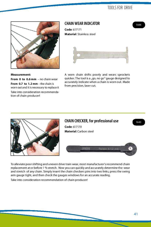 Unior Professional Chain Wear Indicator 617170
