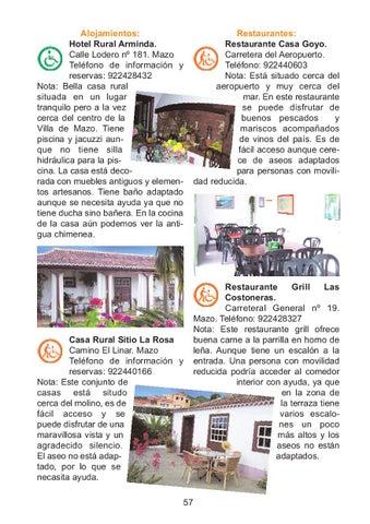 La Palma Turismo Rural Accesible By Senderos Issuu