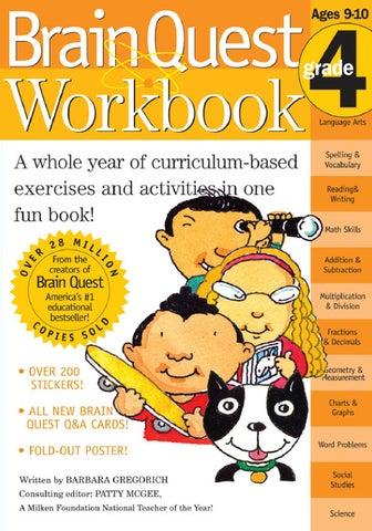 Brain Quest Workbook Grade 4 By Workman Publishing Issuu