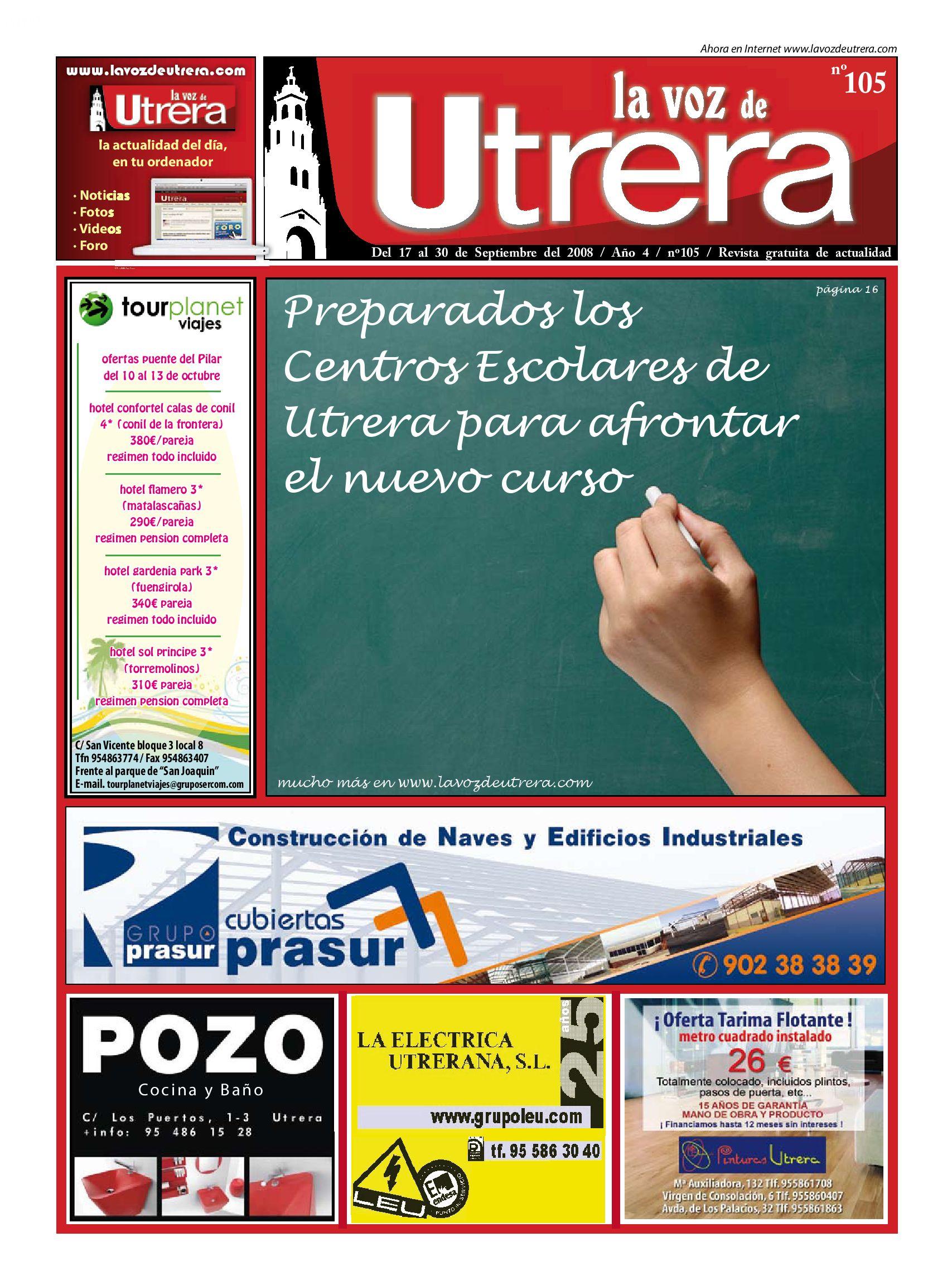 La Voz de Utrera, Nº105 by Andrés Amarillo - issuu