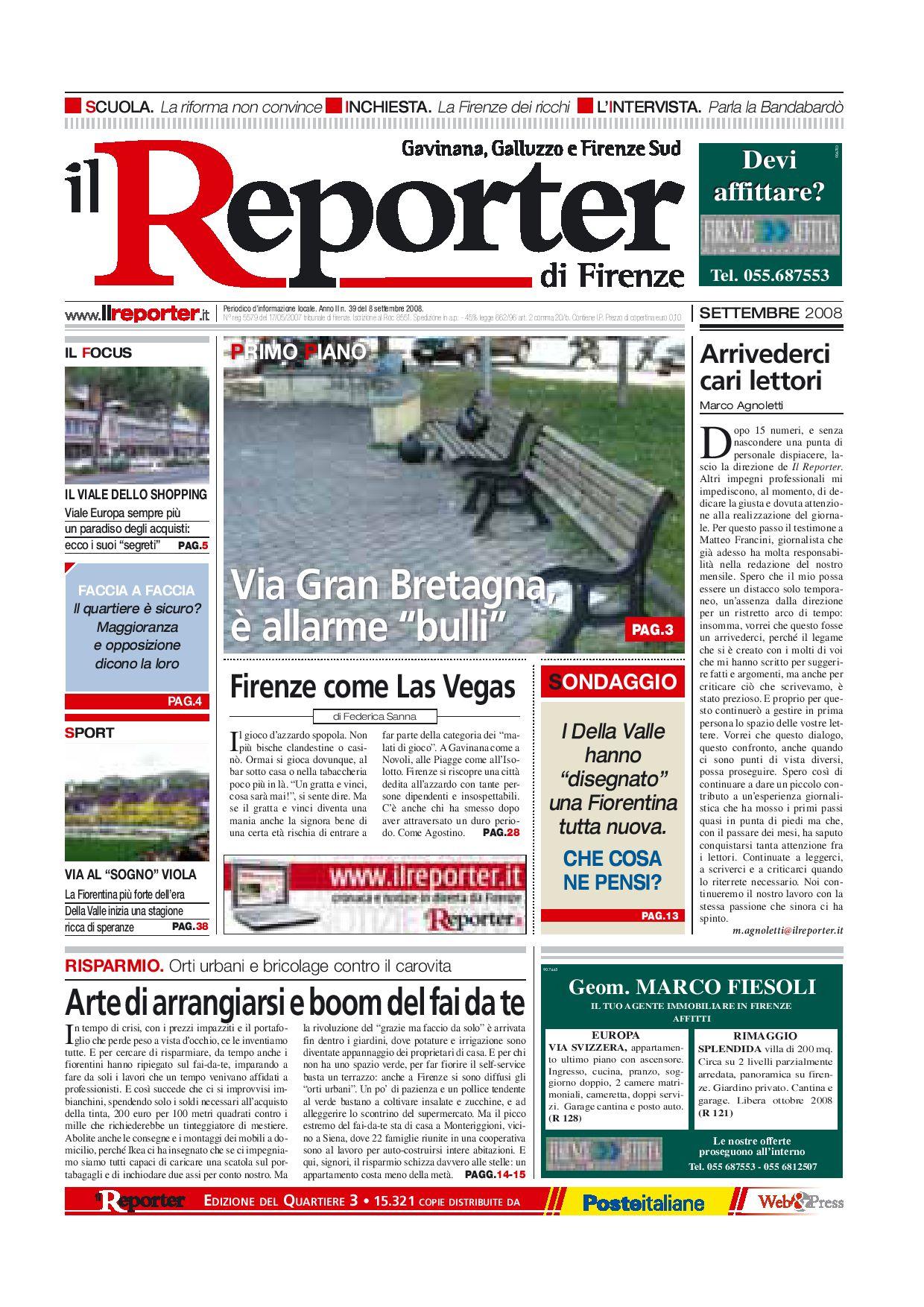 Il Reporter - Quartiere 3 - settembre 08 by ilreporter - issuu 01e16295e01