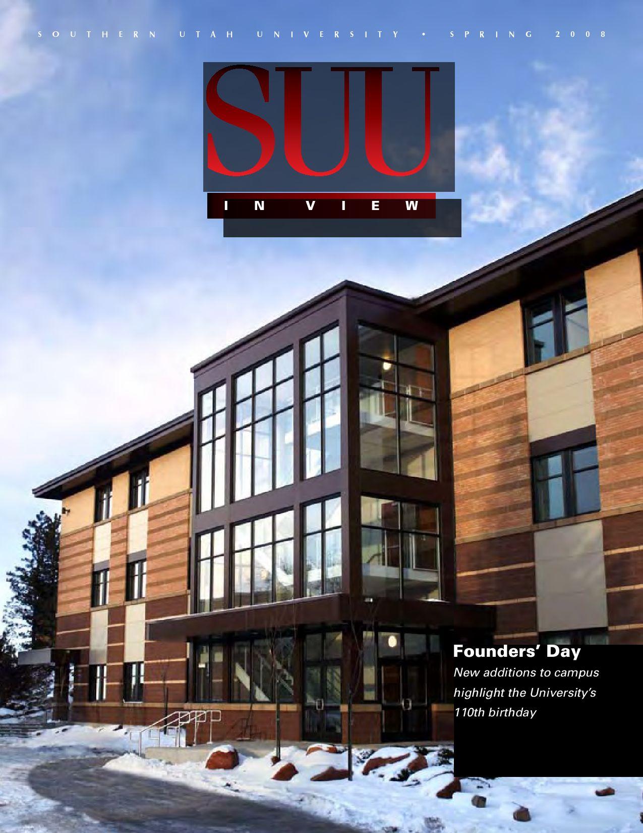 suu in view fall 2015 by southern utah university - issuu