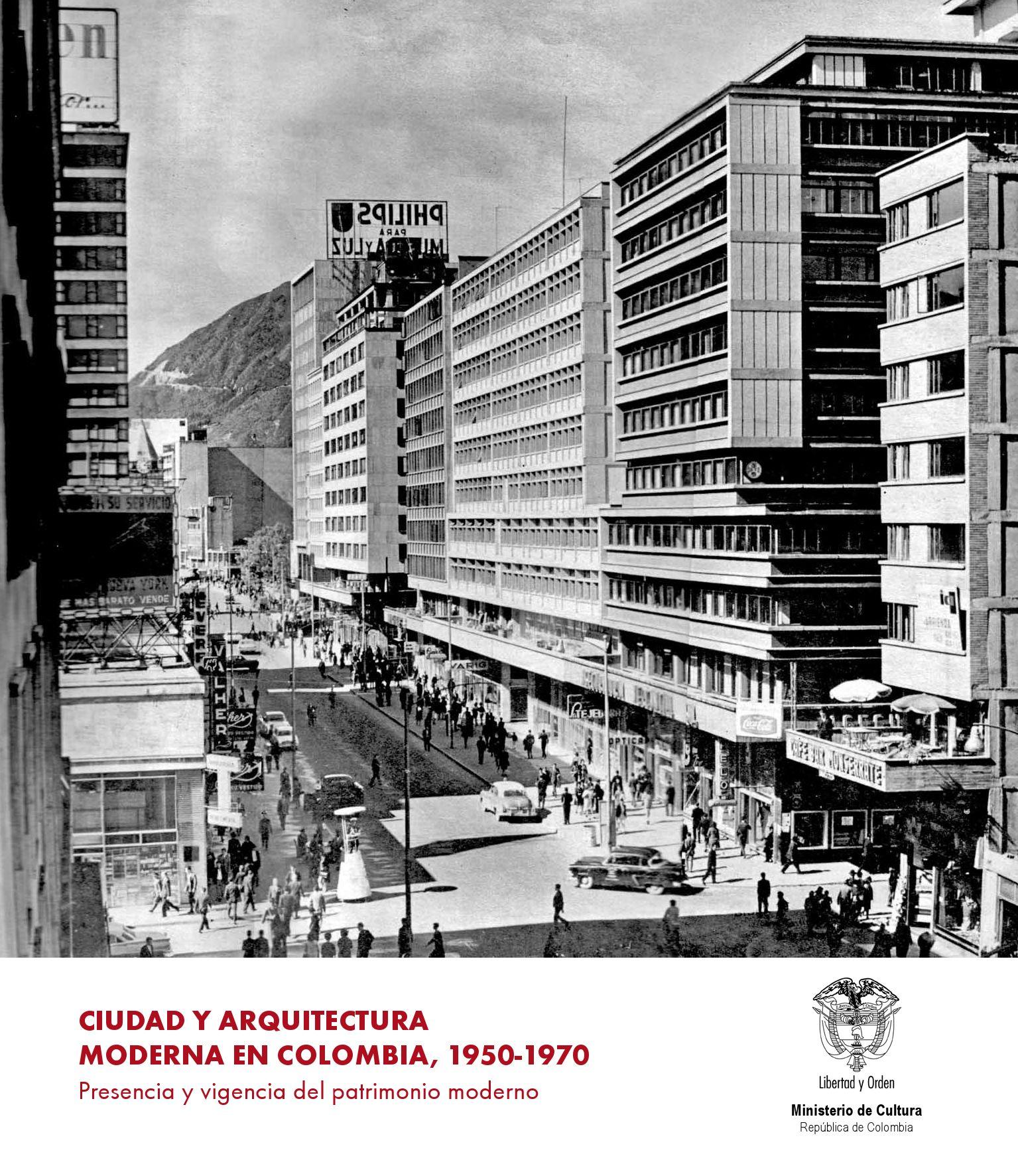 Ciudad y arquitectura moderna en colombia by nuevos medios for Arquitectura moderna en colombia