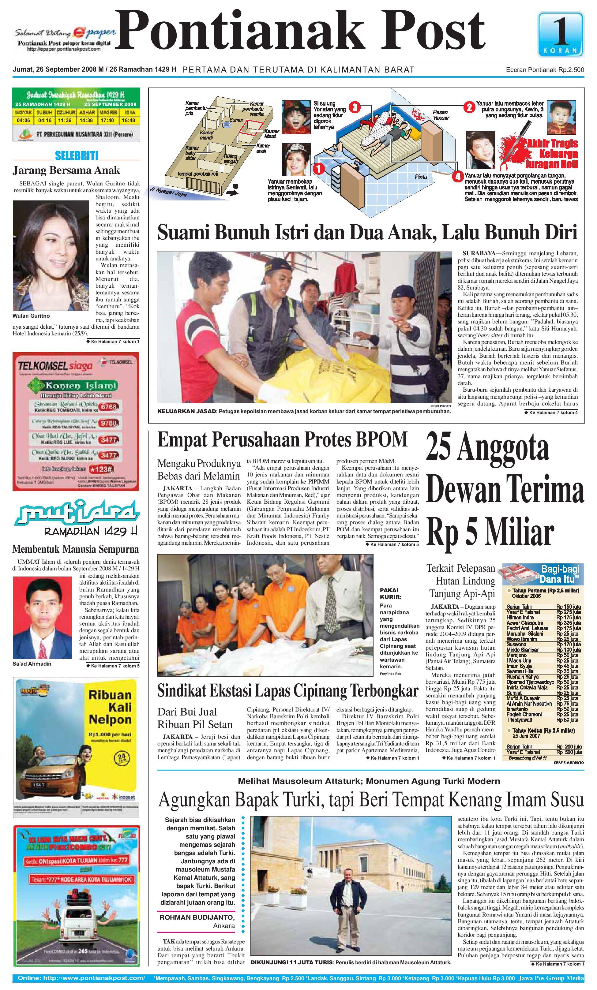 Pontianak Post By Issuu Kopi Bubuk Ridha Utama Smg