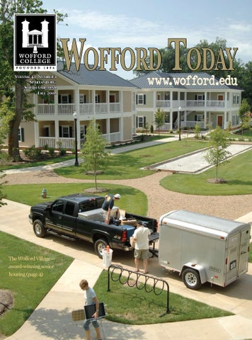 Wofford Today by Wofford College - issuu