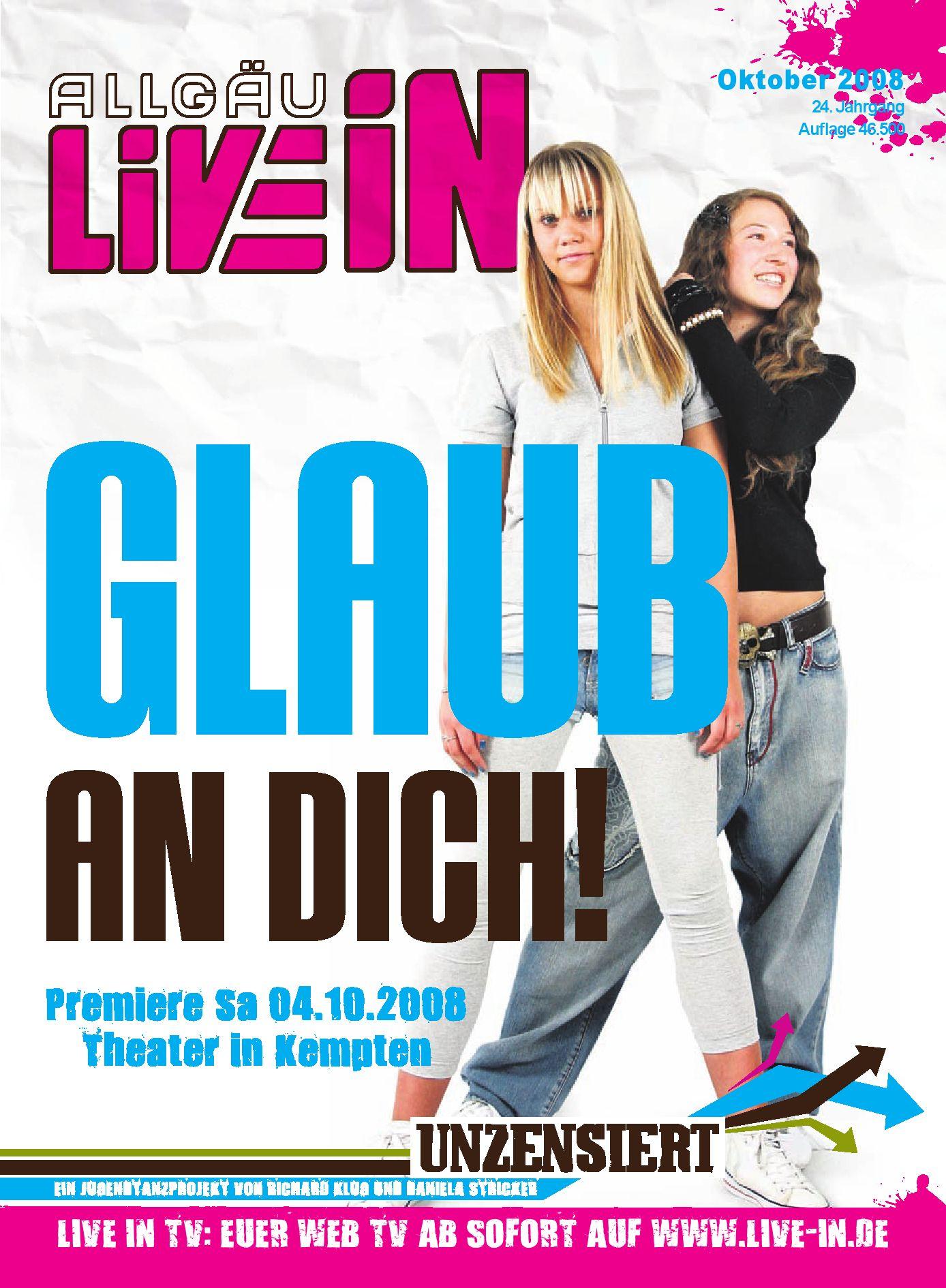Allgäu Live In (10.2008) by Live In Verlag - issuu