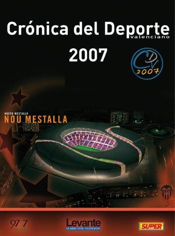 Cronica del Deporte Valenciano 2007 by superdeporte - issuu c85d90fad4e