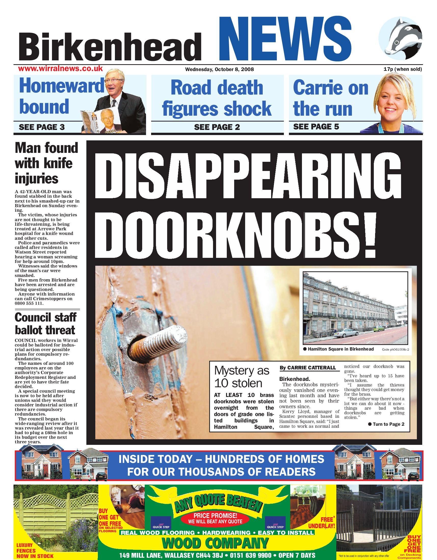 Wirral News Birkenhead Edition by Merseyside Weeklies v1s1ter issuu