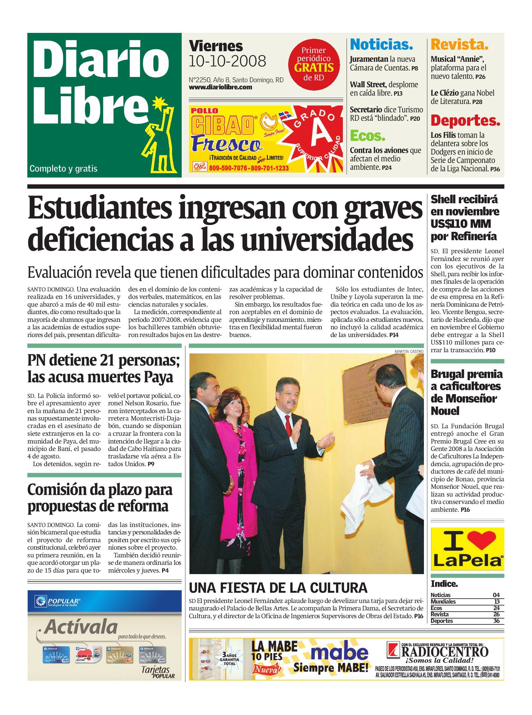 diariolibre2250 by Grupo Diario Libre, S. A. - issuu