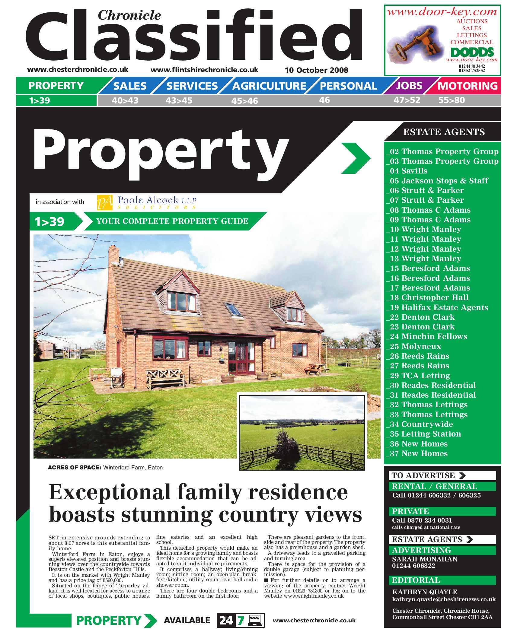 Chester Chronicle Property, 10/10/10 by James Shepherd   issuu