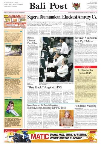 Bali Post - Selasa, 14 Oktober 2008
