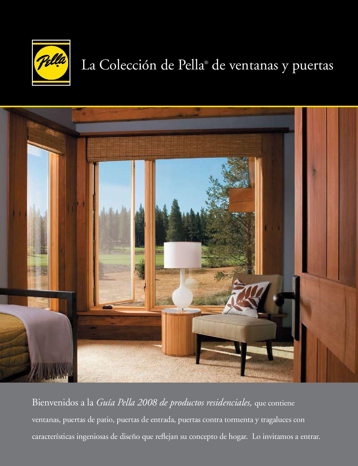 Coleccion de Pella de Ventanas y Puertas 2008-2009 by Pella de ...
