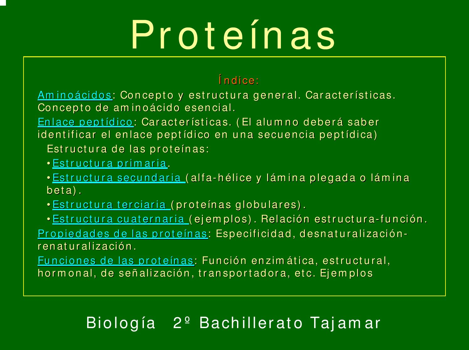 Proteinas By Enrique Barrio García Issuu