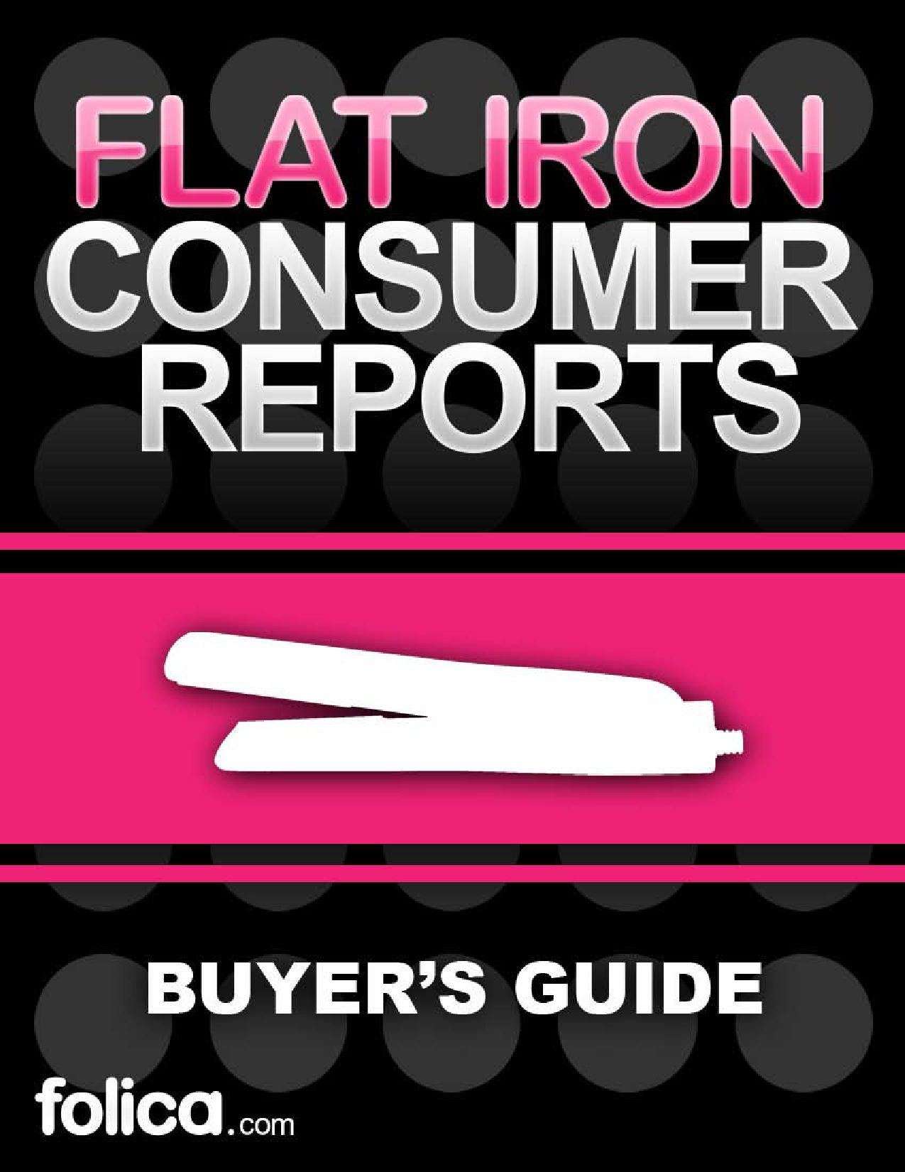 Consumer Reports Irons ~ Flat iron consumer report by martha alexander issuu