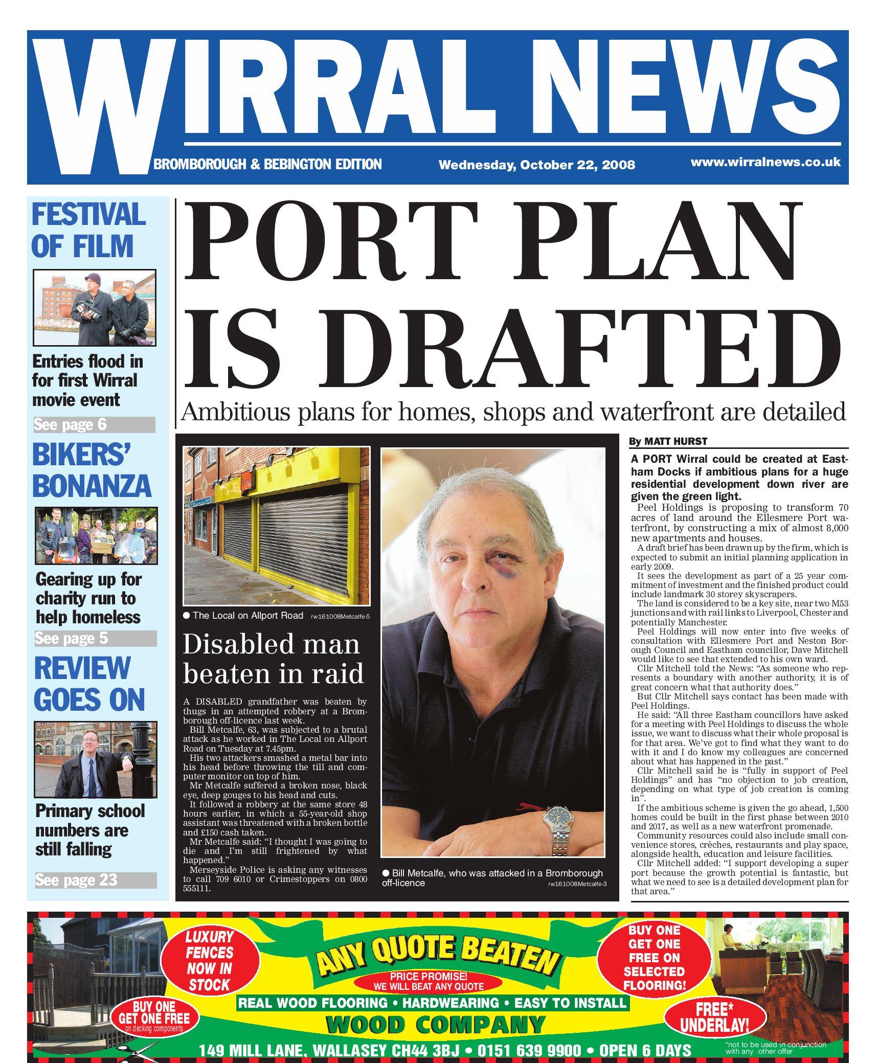 Wirral News - Bromborough & Bebington Edition by Merseyside.Weeklies  v1s1ter - issuu