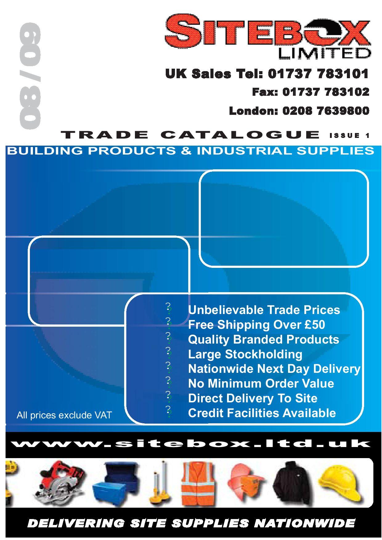 SiteBox Ltd Catalog 2008-09 by David Courtney - issuu