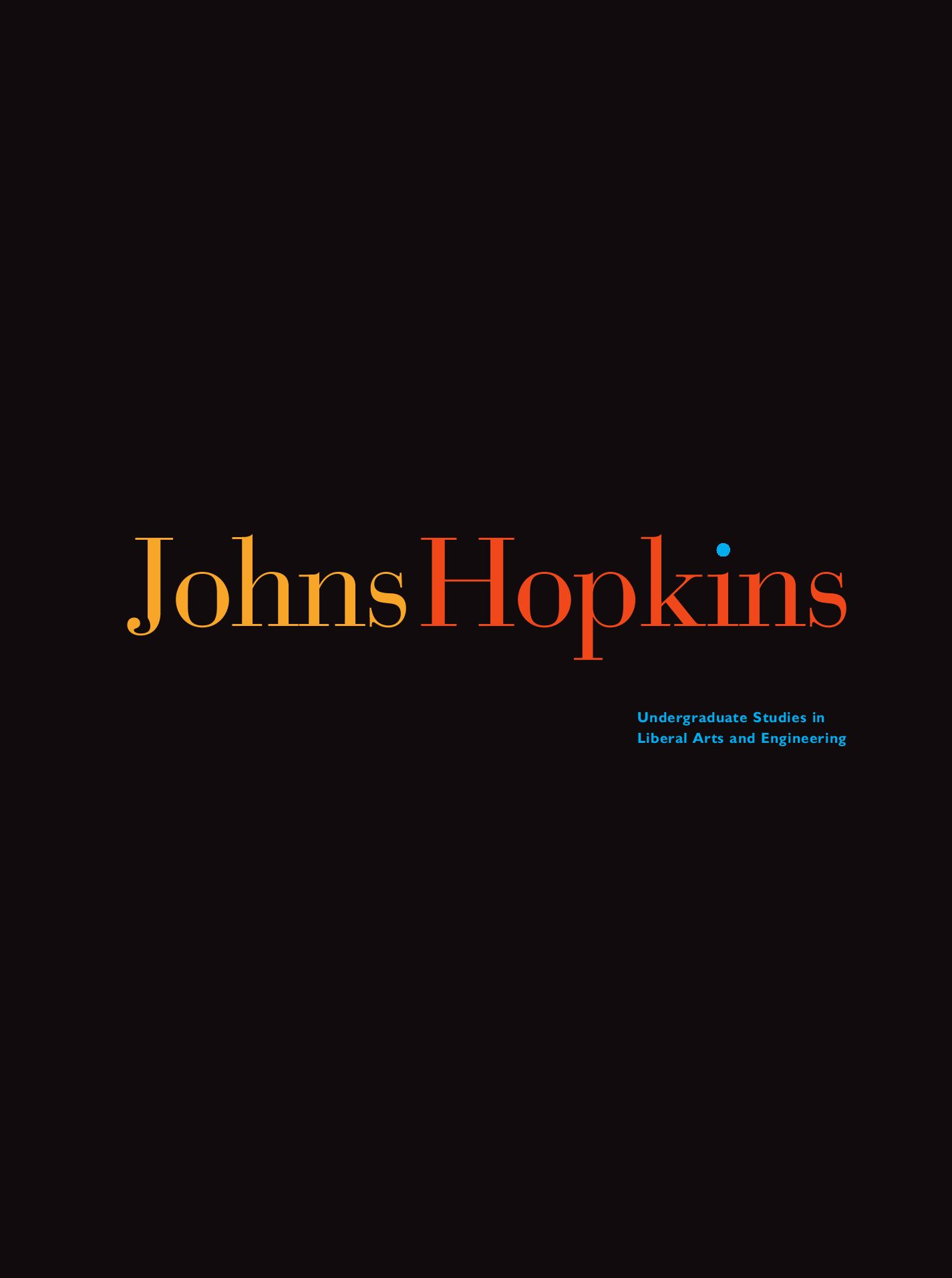 Johns Hopkins University 2008 Viewbook By Glenn Simmons Issuu