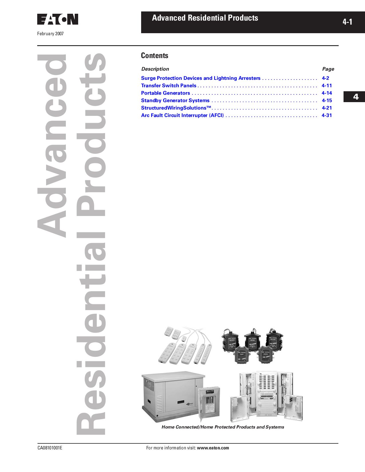 Tab 04 Advanced Residential Products By Greg Campbell Issuu Pass Seymour Arcfault Circuit Interrupter Afci