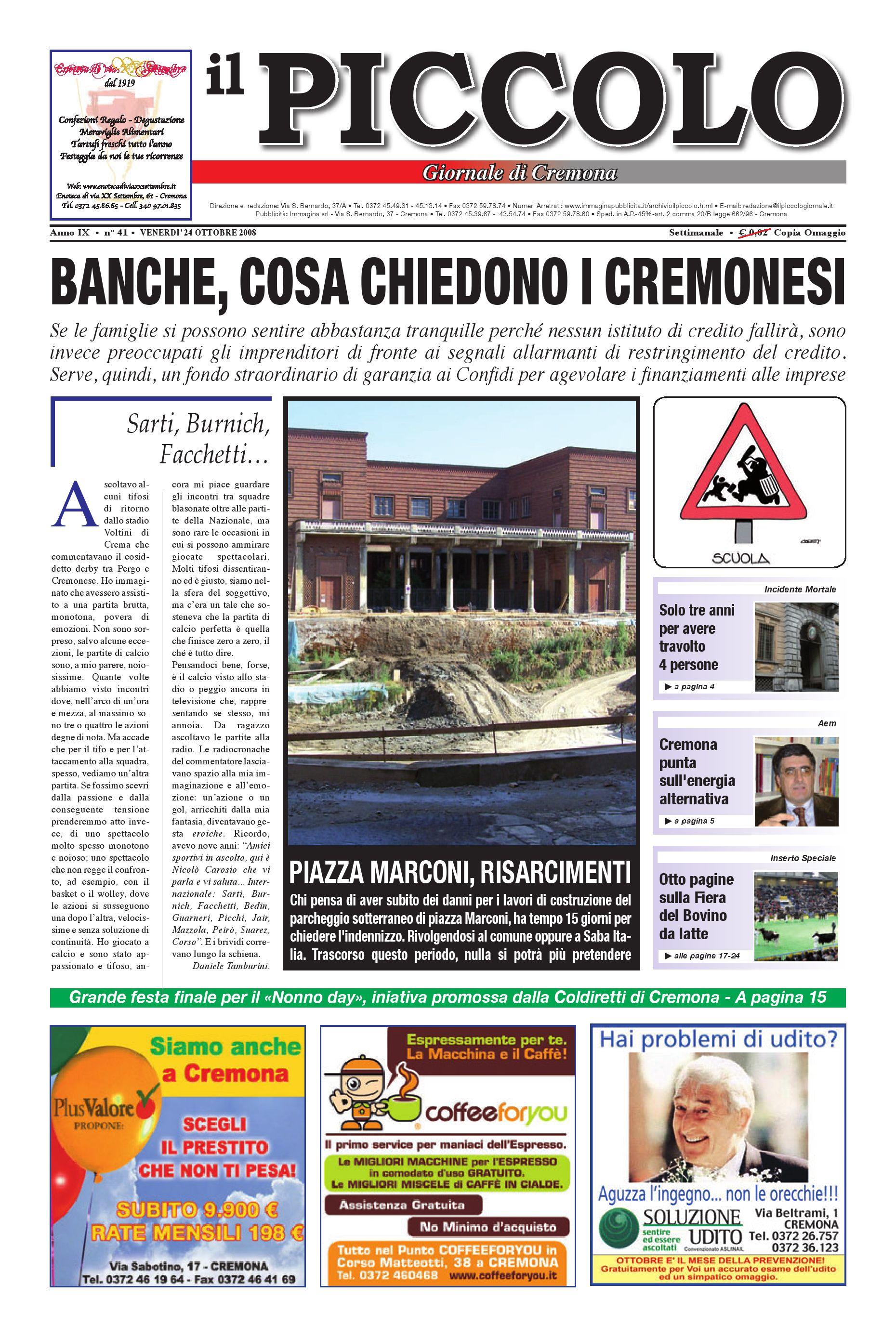 Il Piccolo Giornale di Cremona by promedia promedia - issuu bb86d776f26