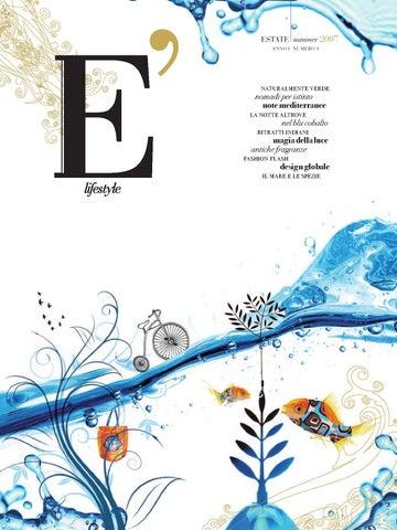 E  lifestyle. Anno I numero 1 by Sergio De Luca - issuu 62a3fcc8c78f