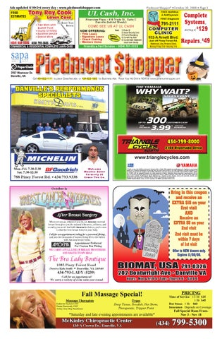 Piedmont shopper 103008 by alan lingerfelt issuu page 1 fandeluxe Image collections