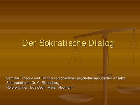 page 1 der sokratische dialog - Sokratisches Gesprach Beispiel