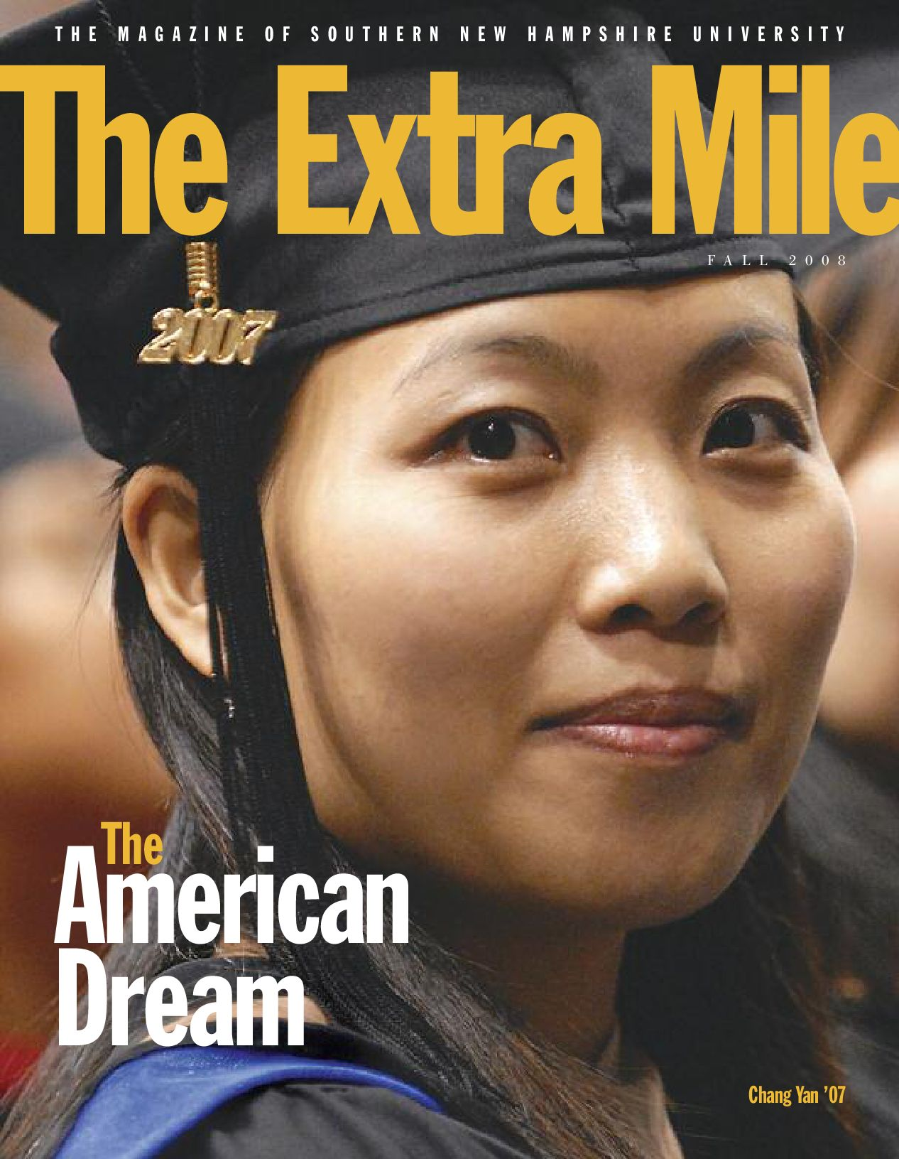 The Extra Mile Fall 2008 by Southern New Hampshire University - issuu