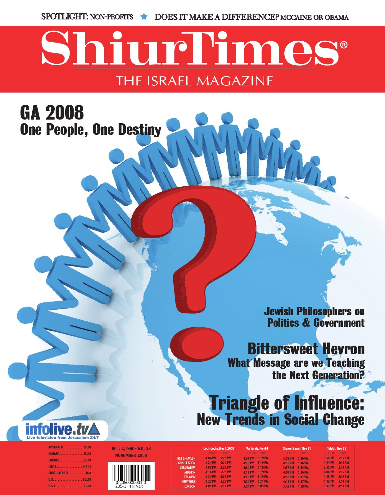 ShiurTimes: The Israel Magazine by queendeb - issuu