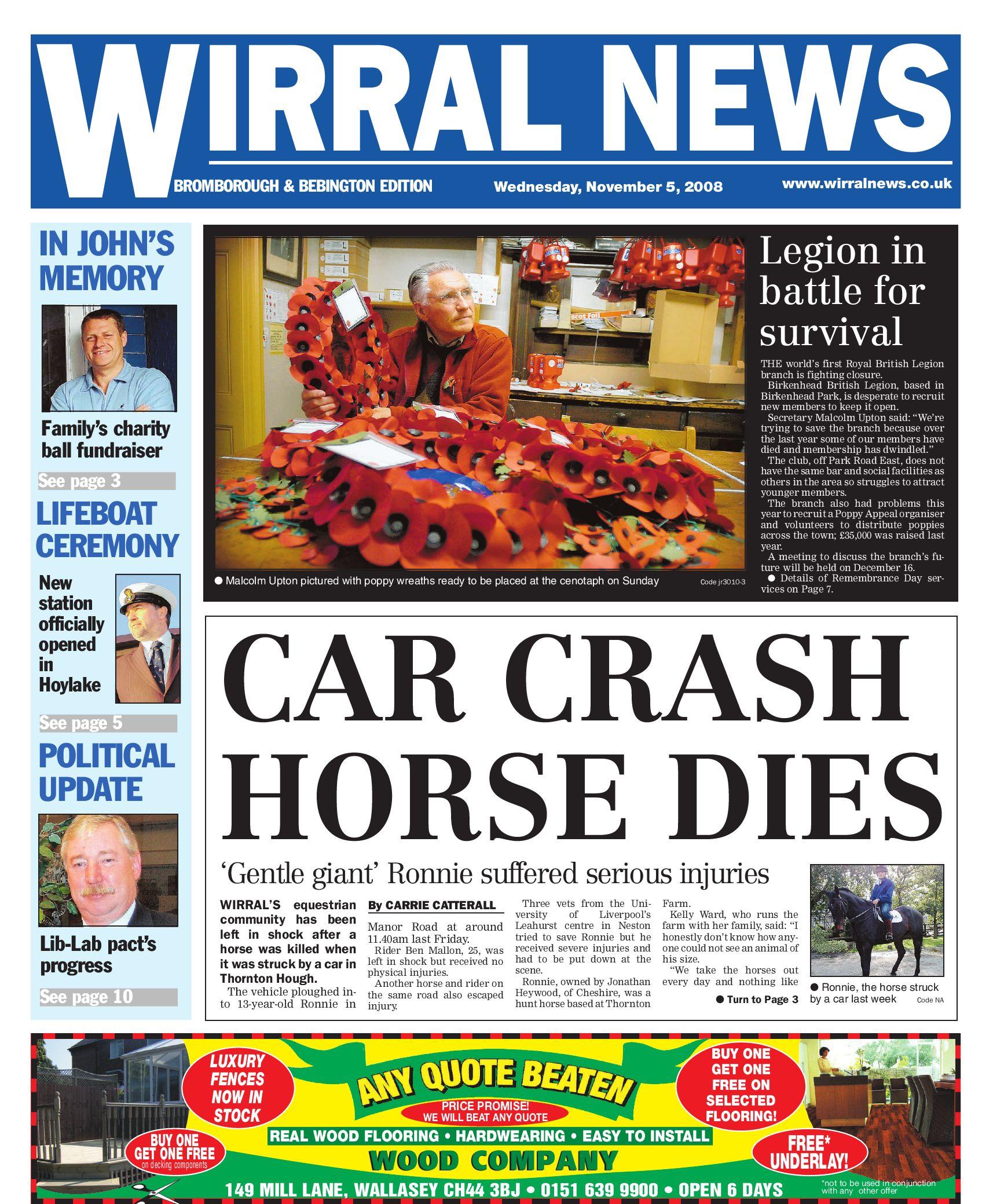 Wirral News - Bromborough   Bebington Edition by Merseyside.Weeklies  v1s1ter - issuu f03611bc8