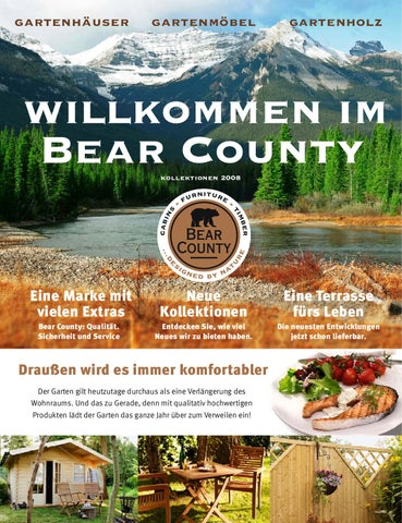 bearcounty hauptkatalog by larix ihr fachpartner in sachen gartenholz issuu. Black Bedroom Furniture Sets. Home Design Ideas
