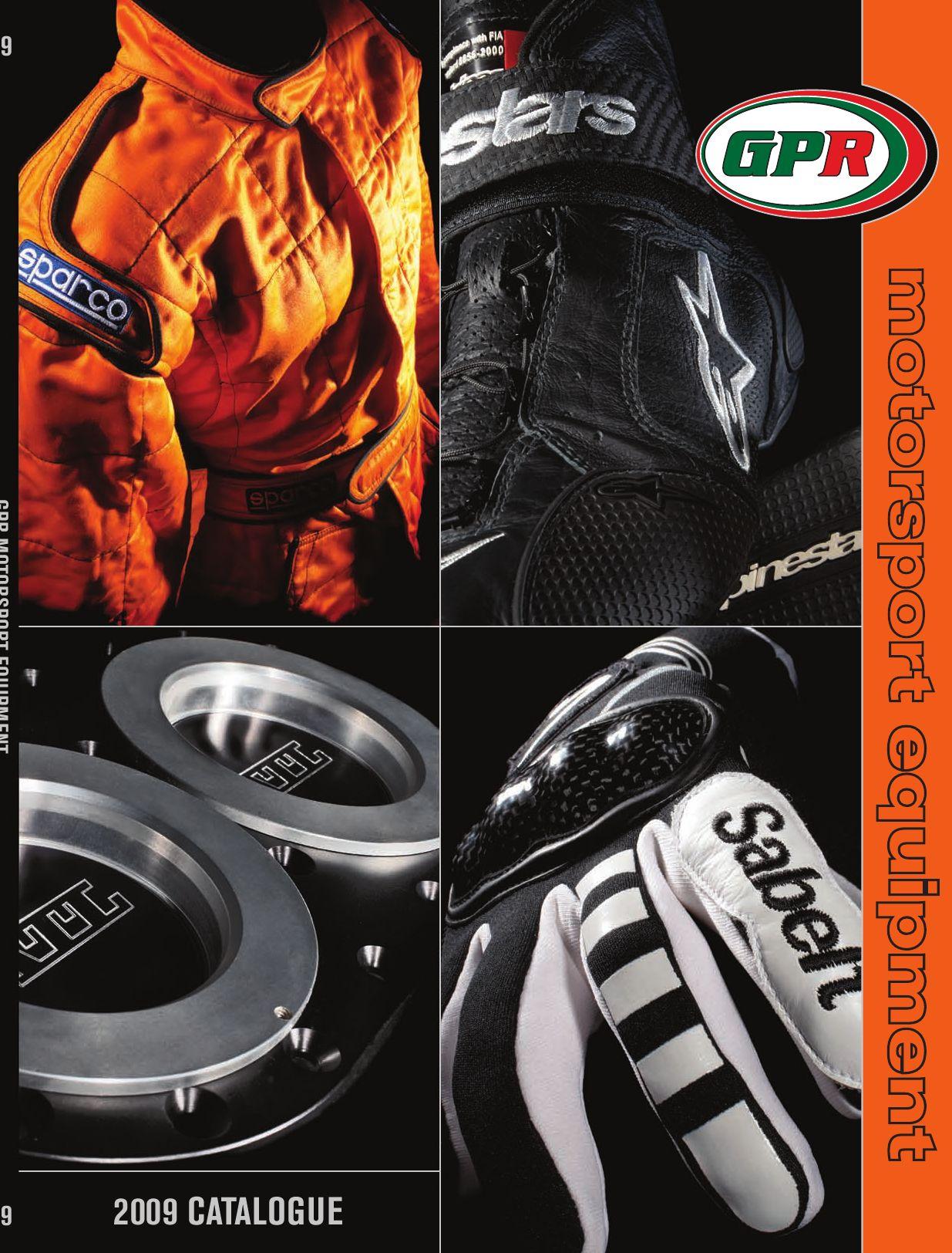 OMP SC039 Racing Helmet Visor, Smoke