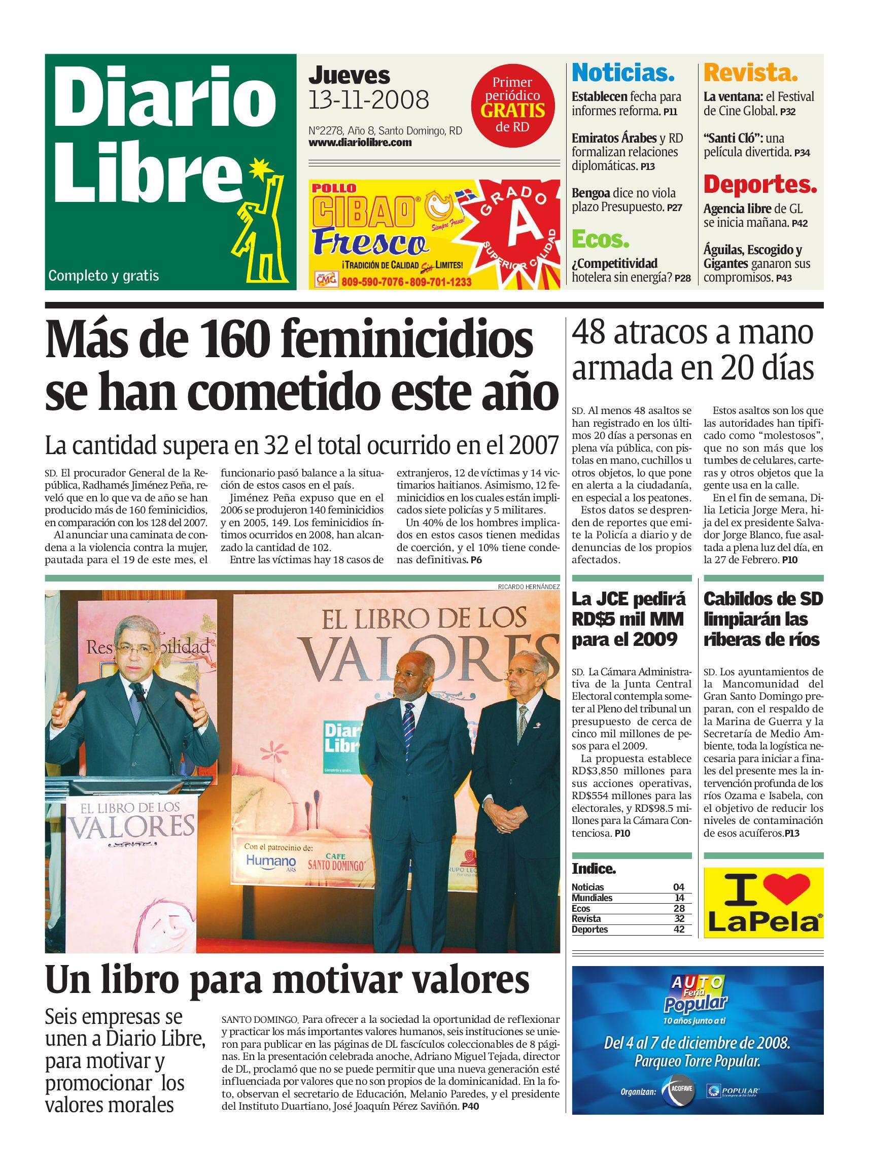 diariolibre2278 by Grupo Diario Libre, S. A. - issuu