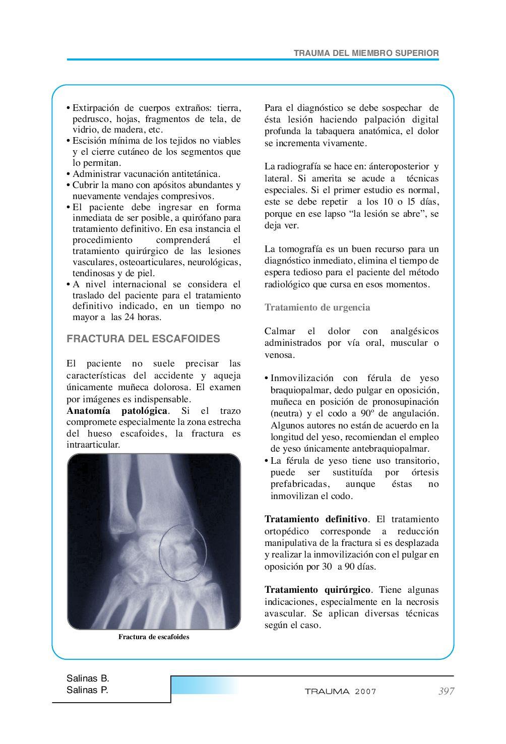 Trauma-2007. Ruben Astudillo, et al. Vol II by Juan Andres Astudillo ...