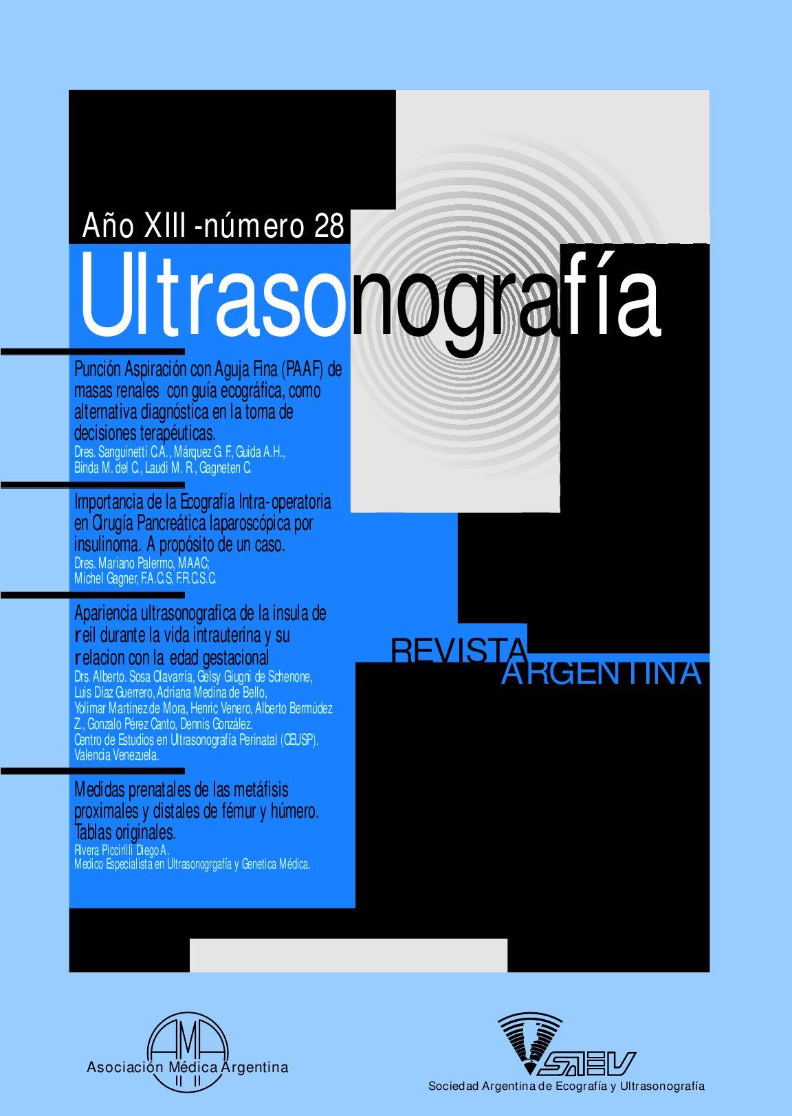 Ultrasonografía by Eneldo Grignoli - issuu