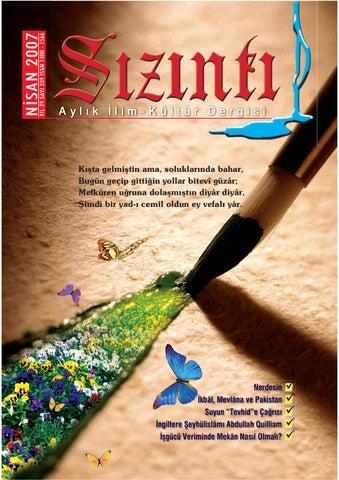 Sizinti Dergisi Nisan 2007 By Aydin Sinan Issuu