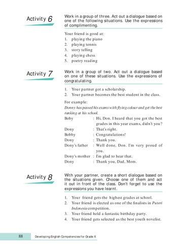Kelas X Bahasa Inggris By Pt Commeta Niaga Raya Issuu